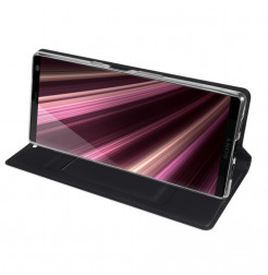 12924 - Dux Ducis Skin кожен калъф за Sony Xperia 10 Plus