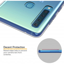 1293 - MadPhone супер слим силиконов гръб за Samsung Galaxy A9 (2018)