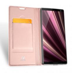 12932 - Dux Ducis Skin кожен калъф за Sony Xperia 10 Plus