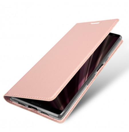 12933 - Dux Ducis Skin кожен калъф за Sony Xperia 10 Plus