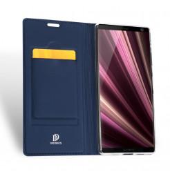 12942 - Dux Ducis Skin кожен калъф за Sony Xperia 10 Plus