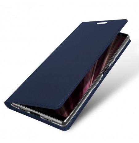 12943 - Dux Ducis Skin кожен калъф за Sony Xperia 10 Plus