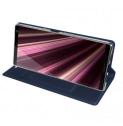 12944 - Dux Ducis Skin кожен калъф за Sony Xperia 10 Plus