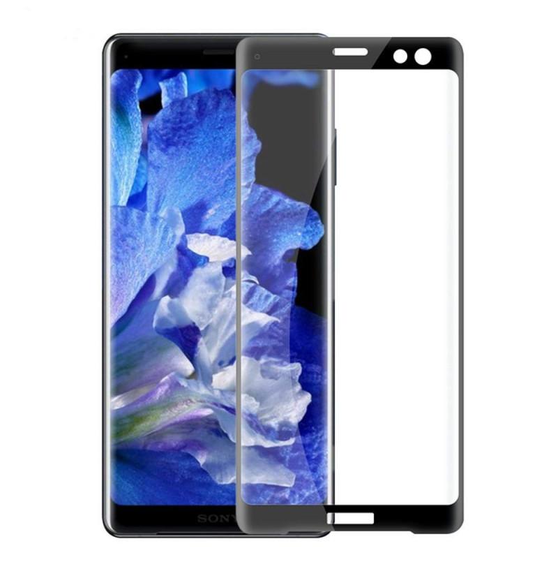 13083 - 3D стъклен протектор за целия дисплей Sony Xperia XZ3