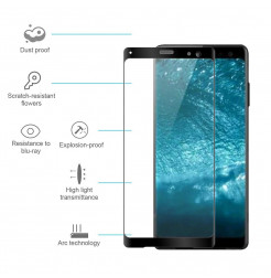 13085 - 3D стъклен протектор за целия дисплей Sony Xperia XZ3