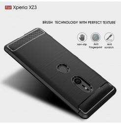 13140 - MadPhone Carbon силиконов кейс за Sony Xperia XZ3