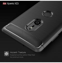 13142 - MadPhone Carbon силиконов кейс за Sony Xperia XZ3