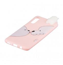 132 - MadPhone 3D Animal силиконов кейс за Samsung Galaxy A50 / A30s