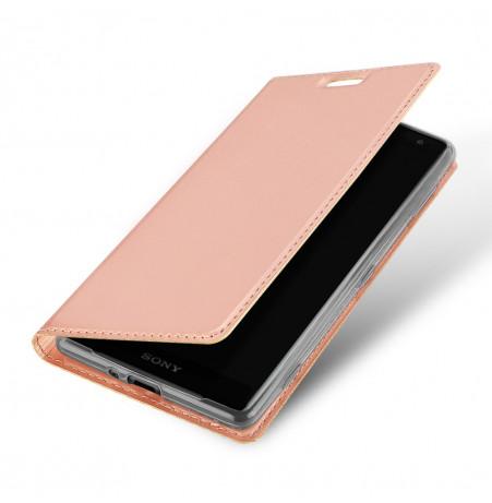 13312 - Dux Ducis Skin кожен калъф за Sony Xperia XZ2