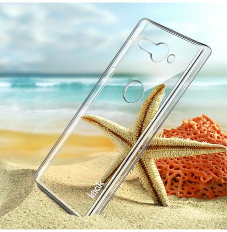 13353 - IMAK Crystal Case тънък твърд гръб за Sony Xperia XZ2 Compact