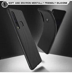 1336 - MadPhone релефен TPU калъф за Samsung Galaxy A9 (2018)