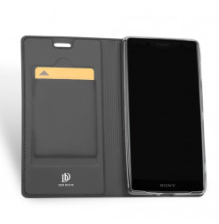 13368 - Dux Ducis Skin кожен калъф за Sony Xperia XZ2 Compact