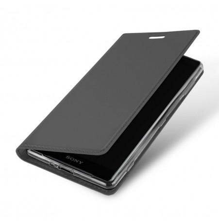 13369 - Dux Ducis Skin кожен калъф за Sony Xperia XZ2 Compact