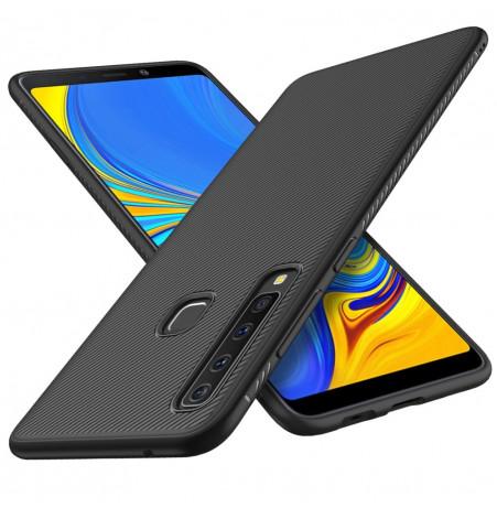 1337 - MadPhone релефен TPU калъф за Samsung Galaxy A9 (2018)