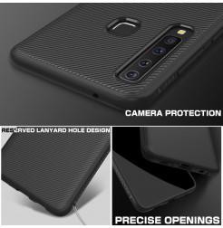 1338 - MadPhone релефен TPU калъф за Samsung Galaxy A9 (2018)