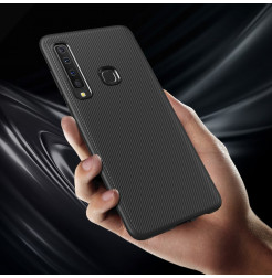 1339 - MadPhone релефен TPU калъф за Samsung Galaxy A9 (2018)