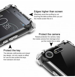 13424 - IMAK Airbag силиконов калъф за Sony Xperia XZ1