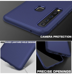 1350 - MadPhone релефен TPU калъф за Samsung Galaxy A9 (2018)