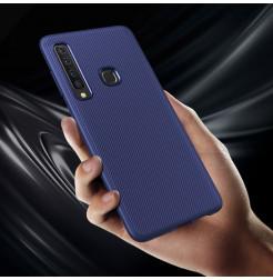 1351 - MadPhone релефен TPU калъф за Samsung Galaxy A9 (2018)