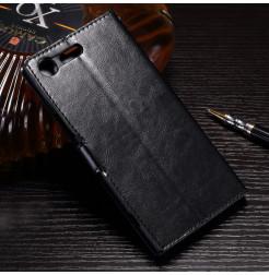 13570 - MadPhone кожен калъф за Sony Xperia XZ Premium
