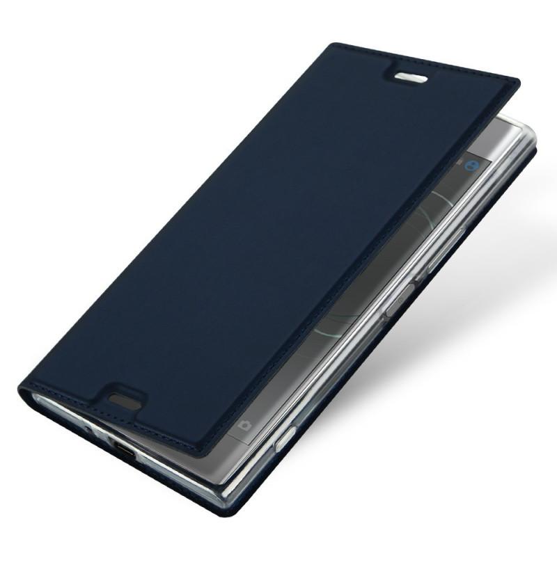 13581 - Dux Ducis Skin кожен калъф за Sony Xperia XZ Premium