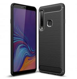1359 - MadPhone Carbon силиконов кейс за Samsung Galaxy A9 (2018)