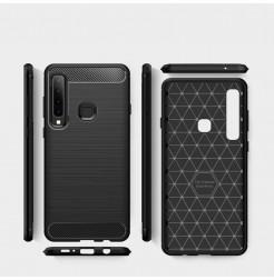 1365 - MadPhone Carbon силиконов кейс за Samsung Galaxy A9 (2018)
