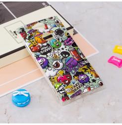 13792 - MadPhone Art силиконов кейс с картинки за Sony Xperia XA2