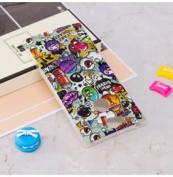 13794 - MadPhone Art силиконов кейс с картинки за Sony Xperia XA2