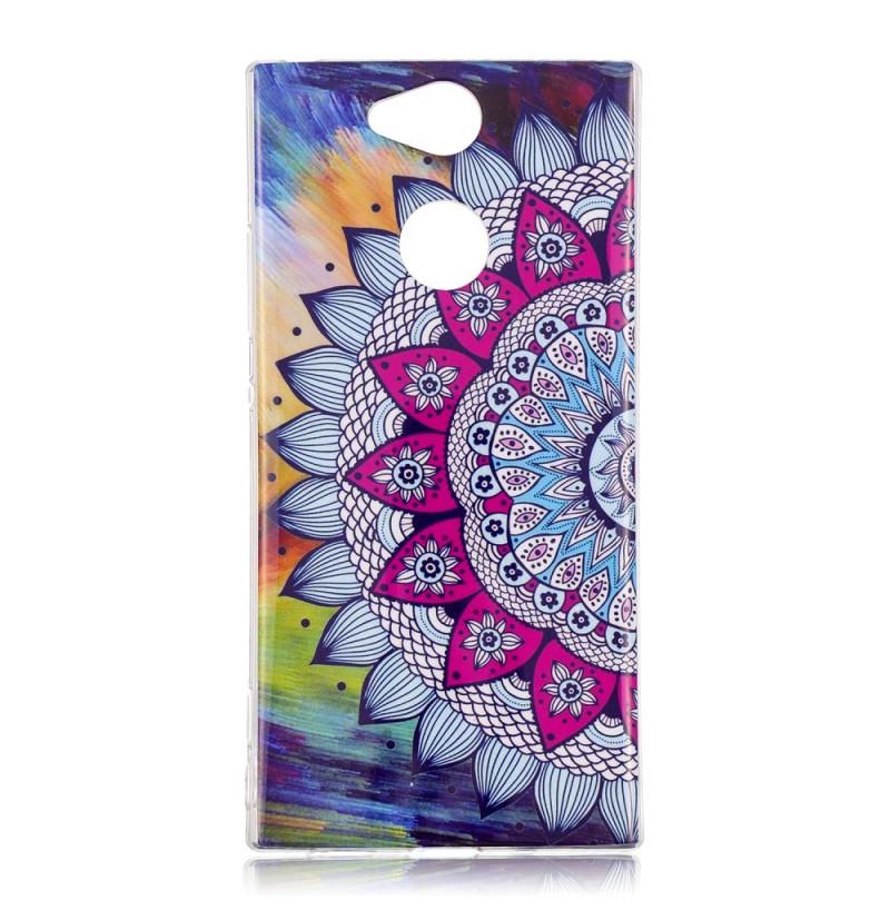 13804 - MadPhone Art силиконов кейс с картинки за Sony Xperia XA2