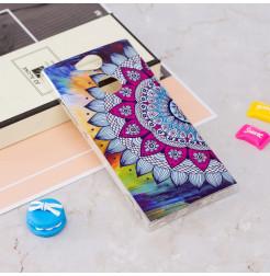 13805 - MadPhone Art силиконов кейс с картинки за Sony Xperia XA2