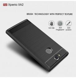 13815 - MadPhone Carbon силиконов кейс за Sony Xperia XA2