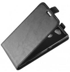 13846 - MadPhone Flip кожен калъф за Sony Xperia XA2