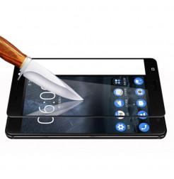 14002 - 3D стъклен протектор за целия дисплей Nokia 8