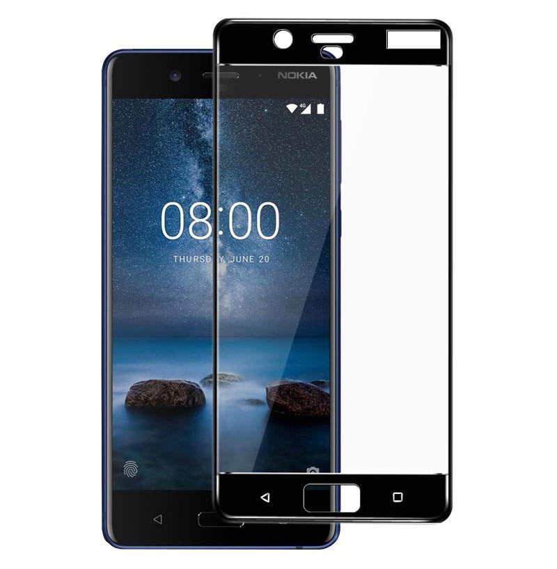 14004 - 3D стъклен протектор за целия дисплей Nokia 8