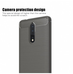 14068 - MadPhone Carbon силиконов кейс за Nokia 8