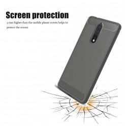 14069 - MadPhone Carbon силиконов кейс за Nokia 8