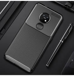 14246 - iPaky Carbon силиконов кейс калъф за Nokia 7.2 / 6.2
