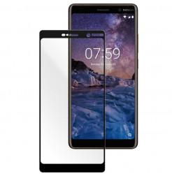 14327 - 3D стъклен протектор за целия дисплей Nokia 7 Plus