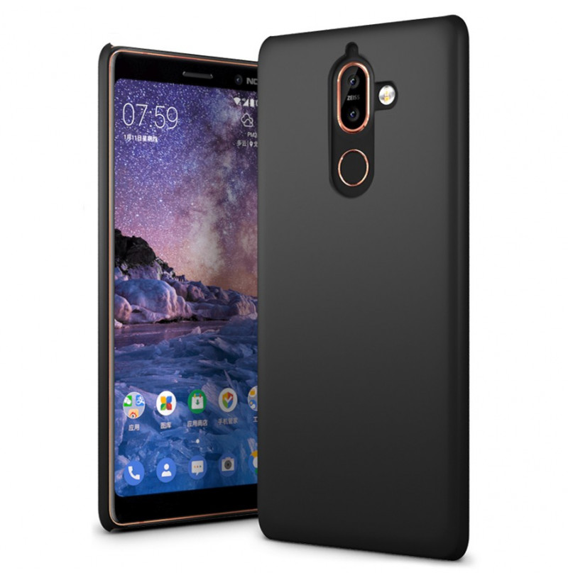 14343 - MadPhone Solid поликарбонатен кейс за Nokia 7 Plus