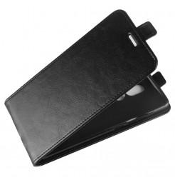 14403 - MadPhone Flip кожен калъф за Nokia 7 Plus