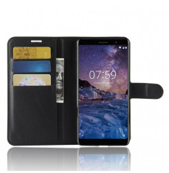 14410 - MadPhone кожен калъф за Nokia 7 Plus
