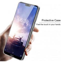 14450 - IMAK Crystal Case тънък твърд гръб за Nokia 6.1 Plus / X6