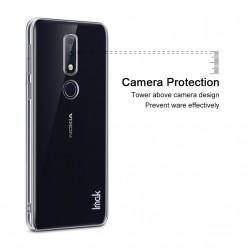 14452 - IMAK Crystal Case тънък твърд гръб за Nokia 6.1 Plus / X6