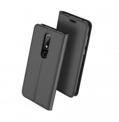 14463 - Dux Ducis Skin кожен калъф за Nokia 6.1 Plus / X6