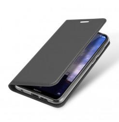 14465 - Dux Ducis Skin кожен калъф за Nokia 6.1 Plus / X6