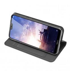 14466 - Dux Ducis Skin кожен калъф за Nokia 6.1 Plus / X6