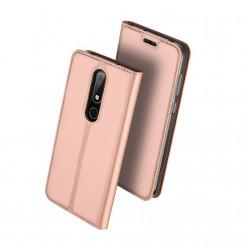 14473 - Dux Ducis Skin кожен калъф за Nokia 6.1 Plus / X6