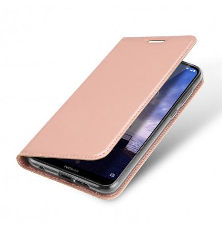 14475 - Dux Ducis Skin кожен калъф за Nokia 6.1 Plus / X6