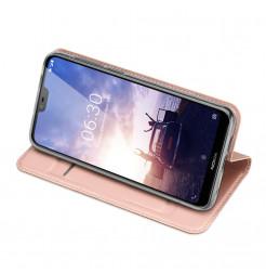 14476 - Dux Ducis Skin кожен калъф за Nokia 6.1 Plus / X6